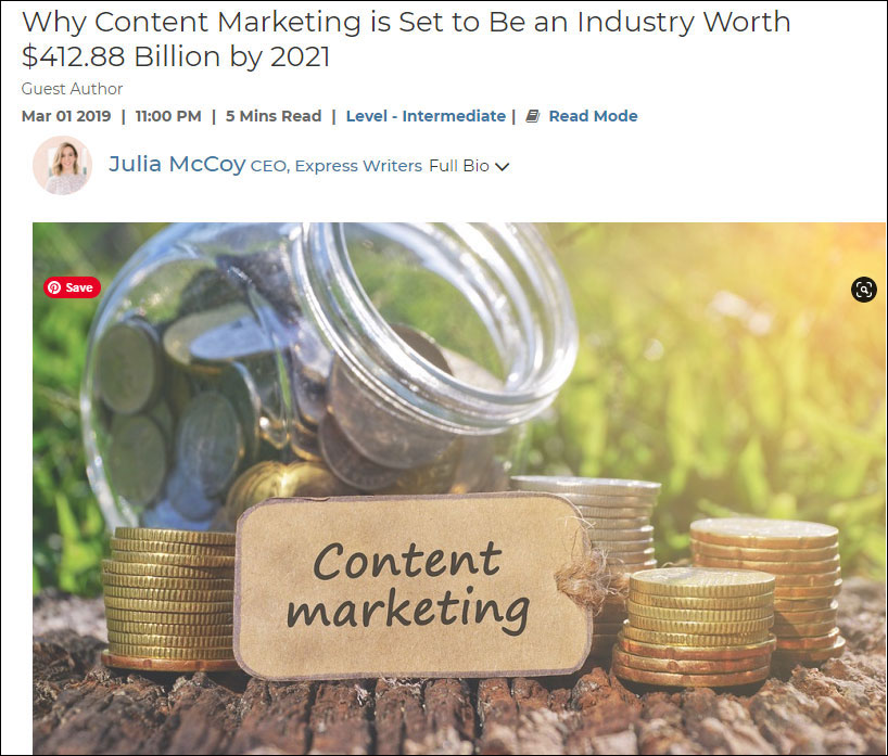 how to write content for websites