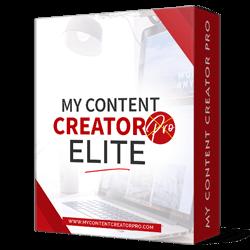 My Content Creator Pro - Elite Version
