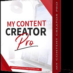 My Content Creator Pro Version
