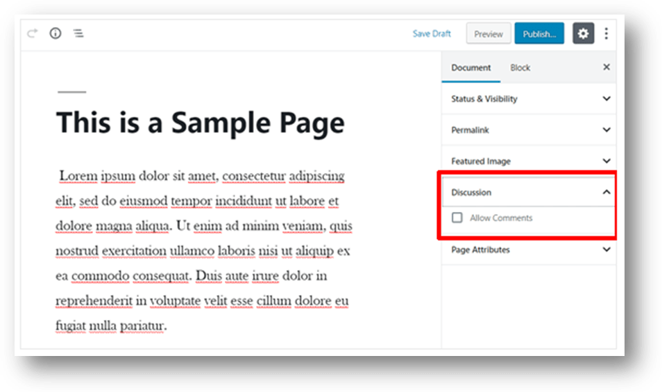 wordpress post and page