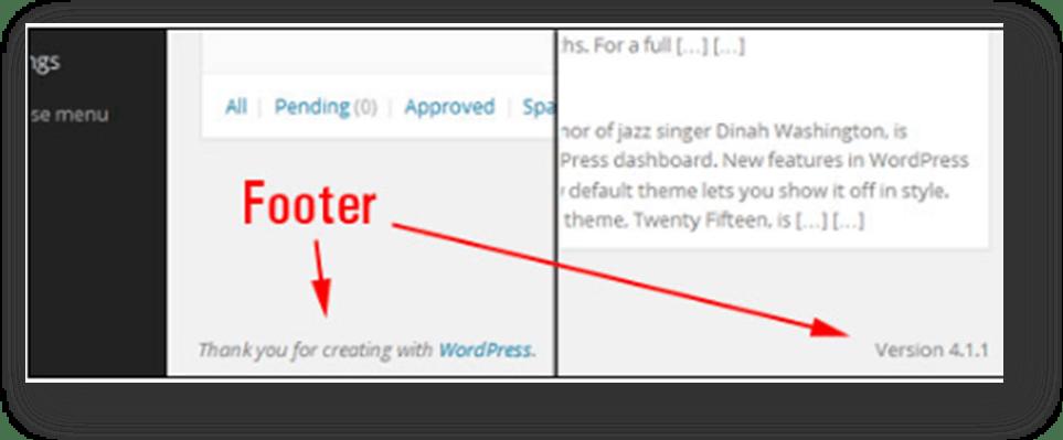 wordpress site admin